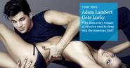 Adam Lambert pose