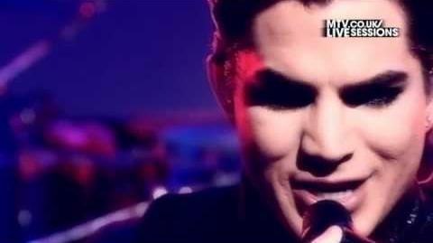 Adam Lambert - For Your Entertainment (MTV UK Live Sessions)