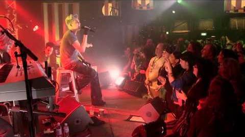 Adam Lambert @ Take 40 Live Lounge