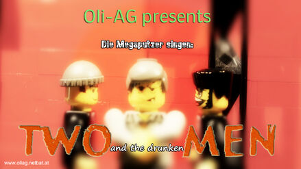 Die Megaputzer Singen Two and the drunken men Poster