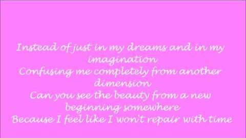 Delta Goodrem- Wish you were here LYRICS