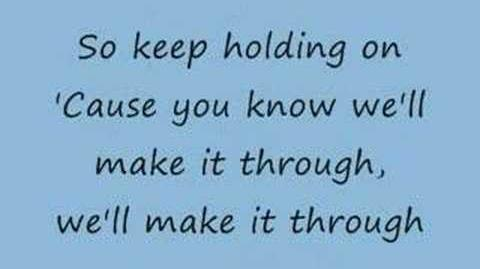 Keep Holding On - Avril Lavigne (lyrics)