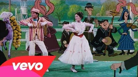 """Julie Andrews, Dick Van Dyke - Supercalifragilisticexpialidocious (from """"Mary Poppins"""")"""