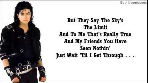 Michael jackson - bad (lyrics)