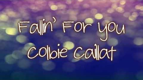 Fallin' For You - Colbie Caillat (Lyrics)