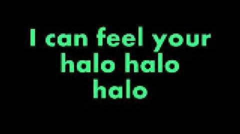 Beyoncé - Halo with lyrics