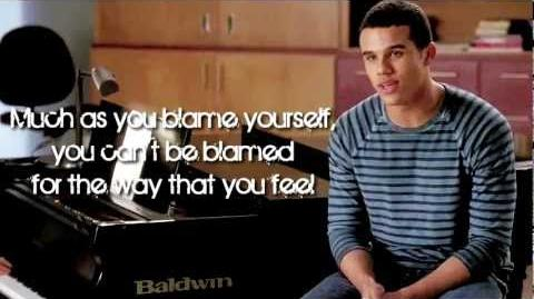 Glee - Let Me Love You (Until You Learn To Love Yourself) (Lyrics)-0