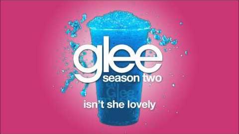 Isn't She Lovely Glee HD FULL STUDIO