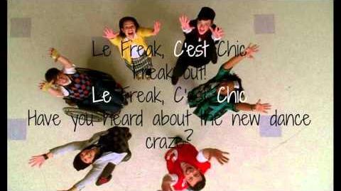 Le Freak - Glee (Lyrics)