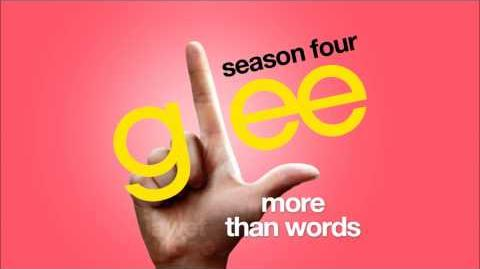 More Than Words - Glee Cast HD FULL STUDIO