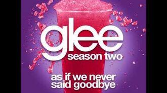 Glee - As If We Never Said Goodbye (DOWNLOAD MP3 + LYRICS)