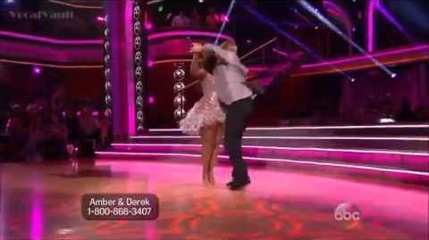 Amber Riley & Derek Hough-Cha Cha (Season 17 Week 1)
