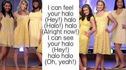 Halo Walking on sunshine glee lyrics