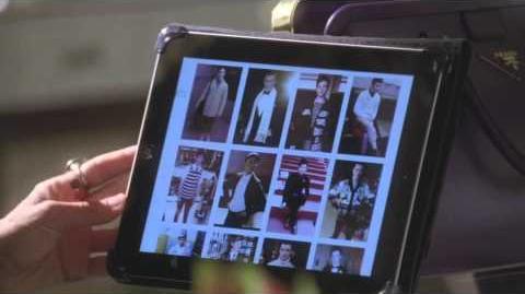 GLEE - Kurt Meets Isabelle at Vogue
