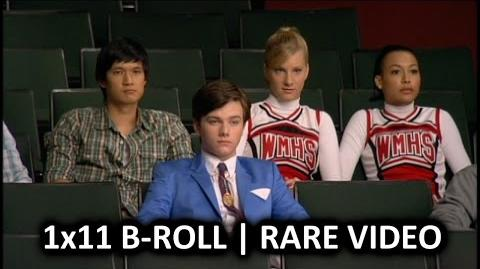 "Glee Season 1 1x11 B-Roll ""Hairography"" - Rare Video"