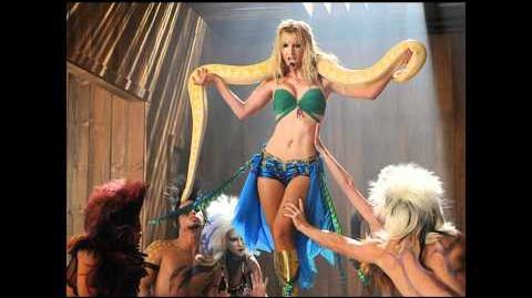 I'm A Slave 4 U - Glee 2x02 Britney Brittany FULL SONG HD