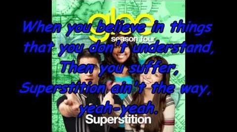 Glee Cast - Superstition Lyrics
