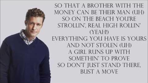 Glee 1x08 - Bust a Move with lyrics