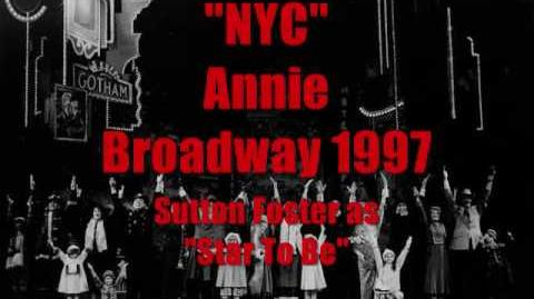 """NYC"" Annie on Broadway 1997"
