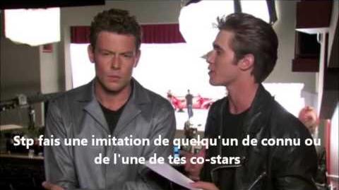 Glee - Bro day Q & A (vostfr)