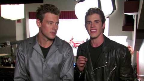 GLEE - Bro Day Q & A