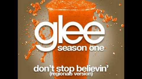 Glee - Don't Stop Believin (Regionals Version)