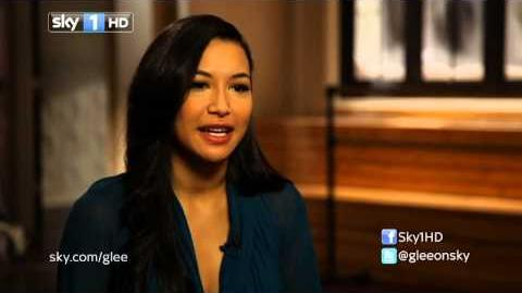 Naya Rivera Glee Interview with Emma Bunton I Heart Glee