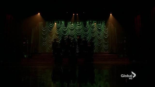 3x14 Glee Cast - She Walks in Beauty