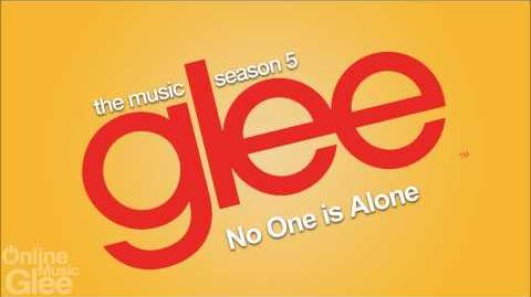 Glee - No One is Alone
