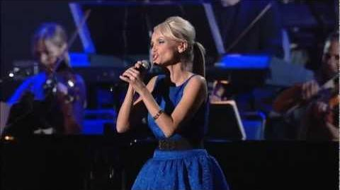 "KRISTIN CHENOWETH & MATTHEW MORRISON - ""One Less Bell To Answer"" LIVE @ Tribute To Barbra"