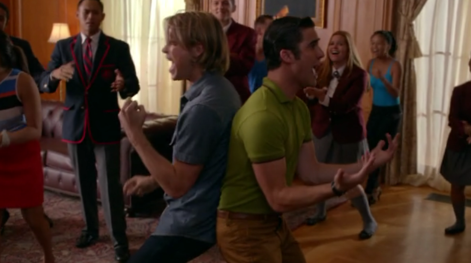 are sam and blaine dating on glee