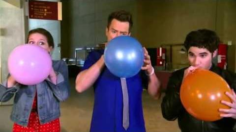 Darren Criss & Melissa Benoist With Josh Duhamel on Kids Choice Awards 2013 23 03 13