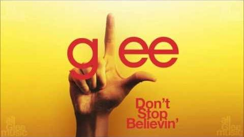 Don't Stop Believin' Glee HD FULL STUDIO