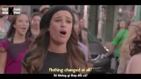 "Lyrics Vietsub GLEE - Pompeii from ""The Untitled Rachel Berry Project"""