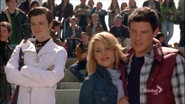 Glee Somewhere only we know