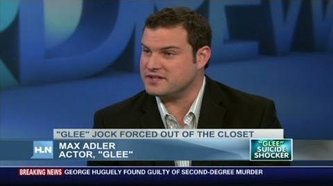 'Glee' actor Max Adler talks homophobia