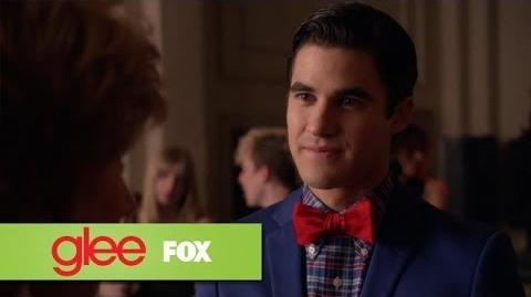 """A Good Feeling About Blaine from """"The Back-up Plan"""" GLEE"""