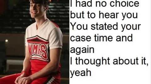 Glee Cast - Will You Still Love Me Tomorrow Head Over Feet Lyrics