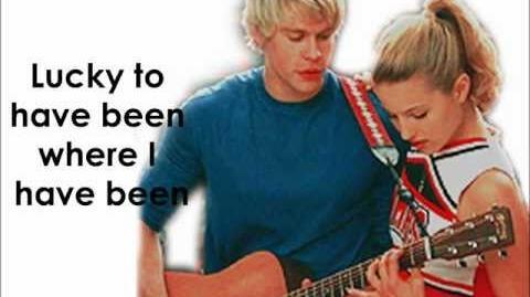 Glee - Lucky (Lyrics)-0