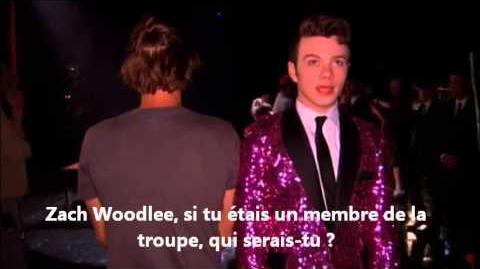 Glee - Zach Woodlee & Chris Colfer Revolving mirror Part