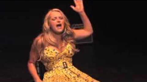 """Ali Stroker- """"Here's Where I Stand"""" CAP21 Senior Showcase"""