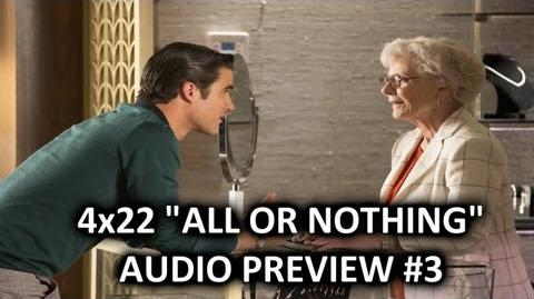 """Glee 4x22 Audio Preview 3 """"All Or Nothing"""" """"Blaine select an engagement ring for Kurt"""""""