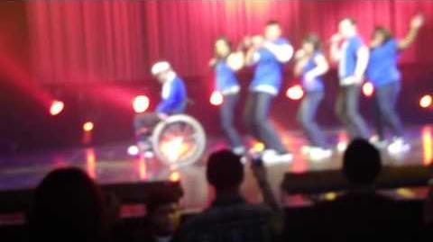 "Glee Live Tour 2010 - ""Push It"""