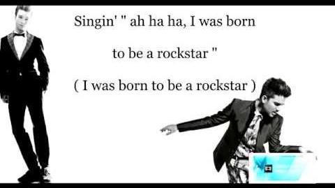 Rockstar (glee) Lyrics