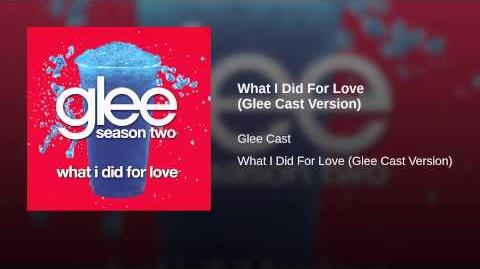 What I Did For Love (Glee Cast Version)-0