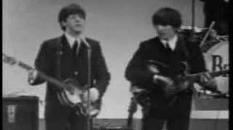Beatles - I Wanna Hold Your Hand with lyrics