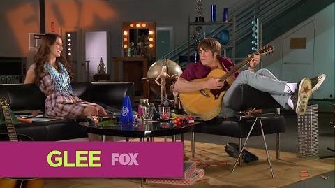 GLEE FOX Lounge Melissa Benoist & Blake Jenner Duets