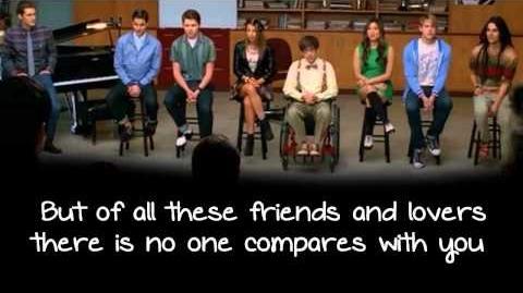 Glee - In My Life (Lyrics)