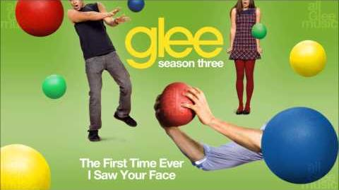 The First Time Ever I Saw Your Face Glee HD FULL STUDIO