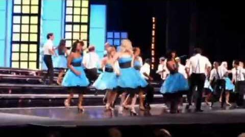 """Glee - Full Performance of """"Rehab"""""""